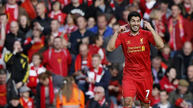 Premier League - Stunning Suarez hat-trick leads Liverpool to victory