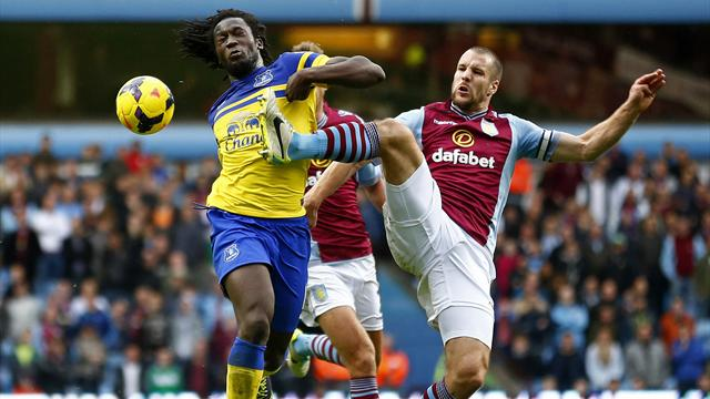 Premier League - Lukaku inspires Everton to defeat Aston Villa