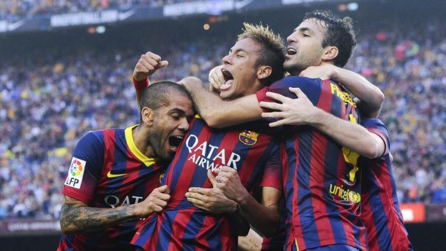 Liga - Neymar inspires Barcelona to Clasico win over Real