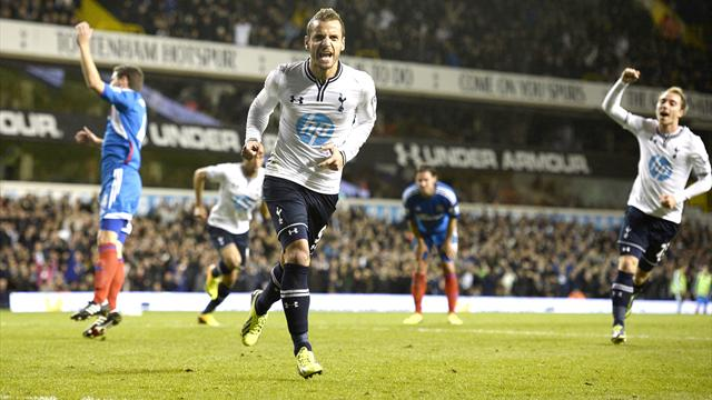 Premier League - Soldado's penalty sees Tottenham beat resolute Hull
