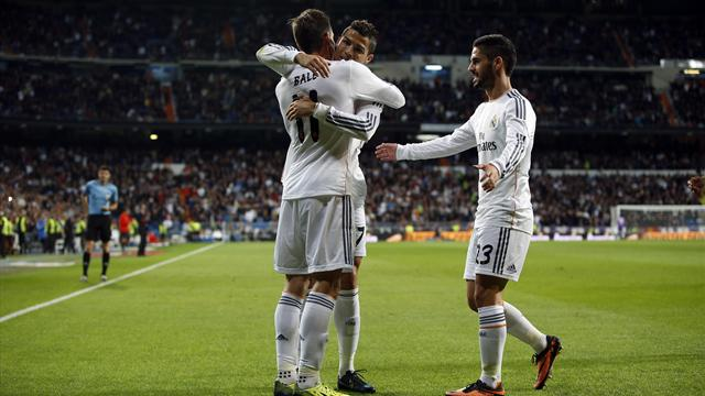 Liga - Ronaldo and Bale rampant as Real hammer Sevilla