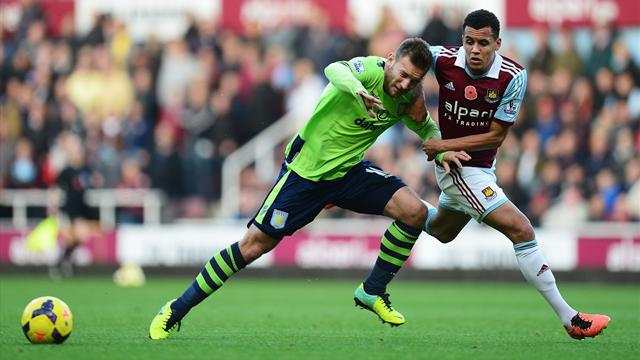 Premier League - West Ham battle to goalless draw with Villa