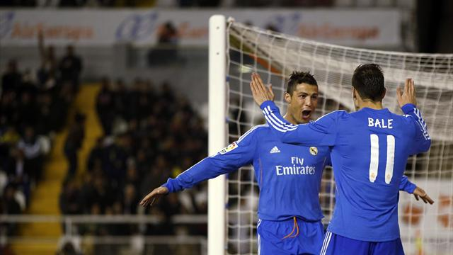 Liga - Madrid survive Vallecano fightback