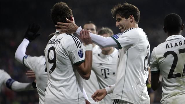 Champions League - Bayern equal record with win in Plzen