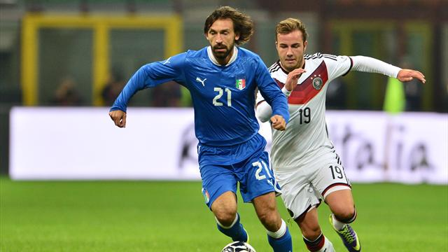 International friendlies - Italy and Germany play out tepid draw