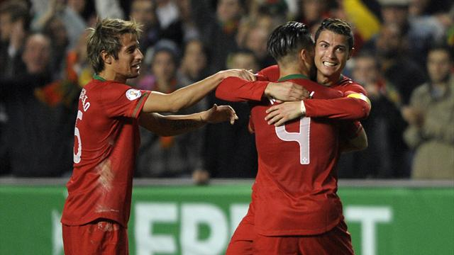 World Cup - Ronaldo heads Portugal closer to Brazil