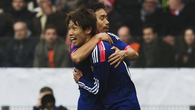 International friendlies - Stunning comeback sees Japan draw with Dutch