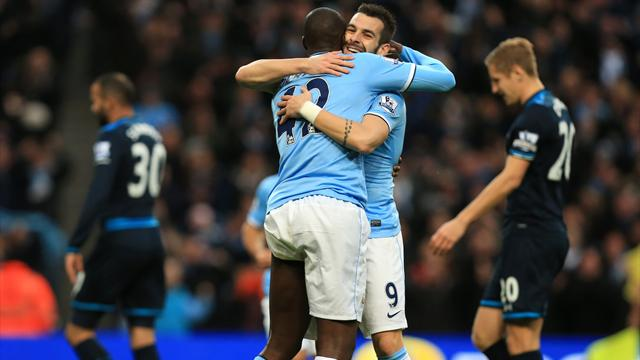 Premier League - Manchester City smash six past miserable Spurs