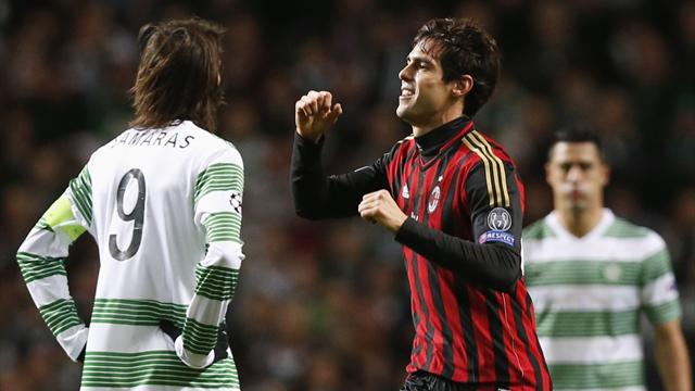 Champions League - Celtic crash out of Europe after defeat to AC Milan