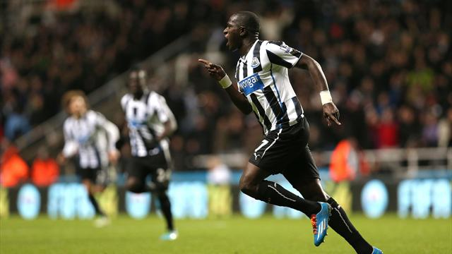 Premier League - Newcastle cap glorious month with stunning Sissoko winner