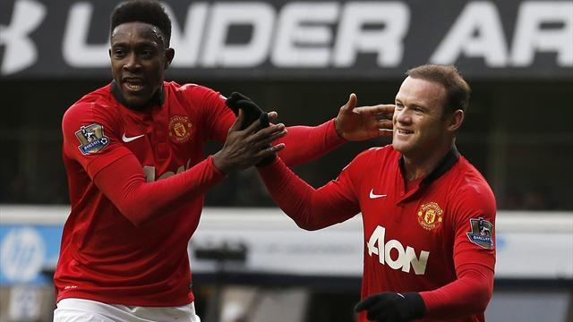 Premier League - Rooney double earns United draw at Spurs