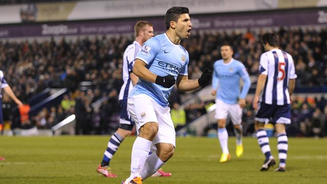 Premier League - Amazing Aguero wreaks havoc against West Brom