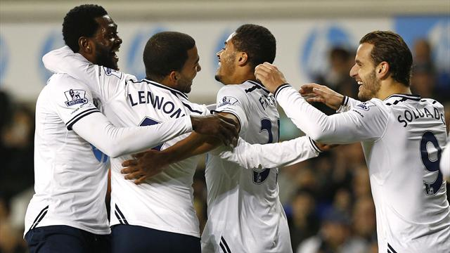 Premier League - Sherwood earns first home win as Spurs coast past Stoke