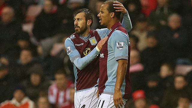 Premier League - Agbonlahor goal sees Villa win at Sunderland