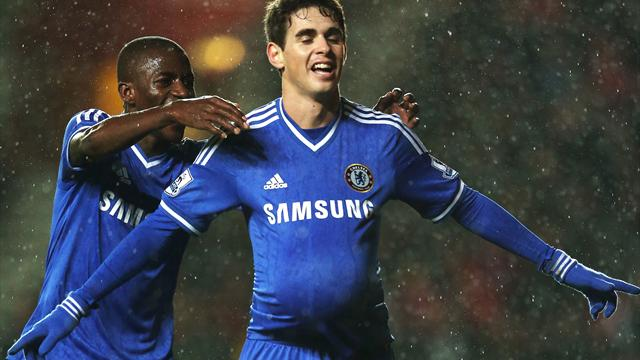 Premier League - Oscar stars as Chelsea sweep aside Southampton