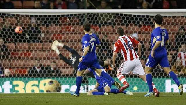 FA Cup - Stoke do enough to see off Leicester