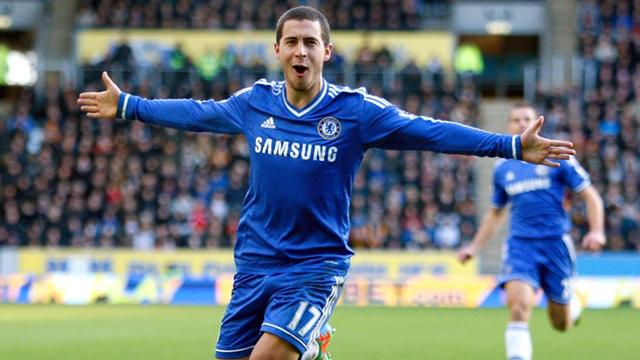 Premier League - Moment of genius from Hazard as Chelsea go top