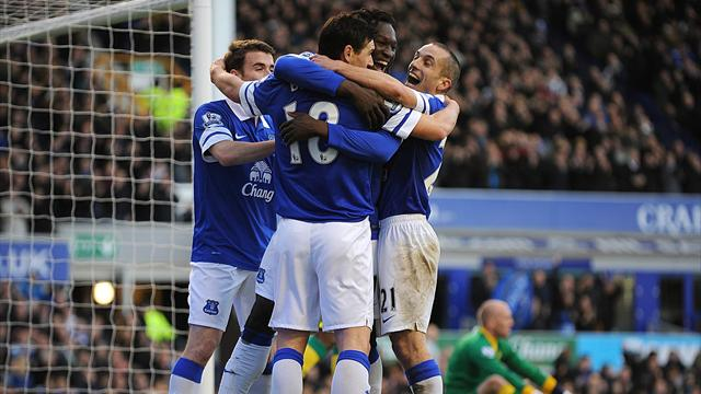 Premier League - Stunning Mirallas free-kick seals Everton win