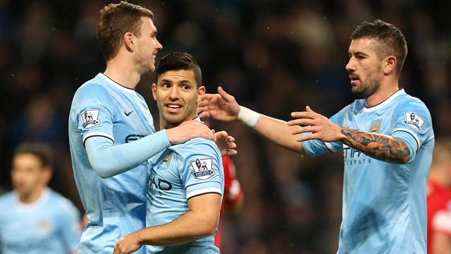 FA Cup - City thrash Rovers as Aguero marks return with a goal