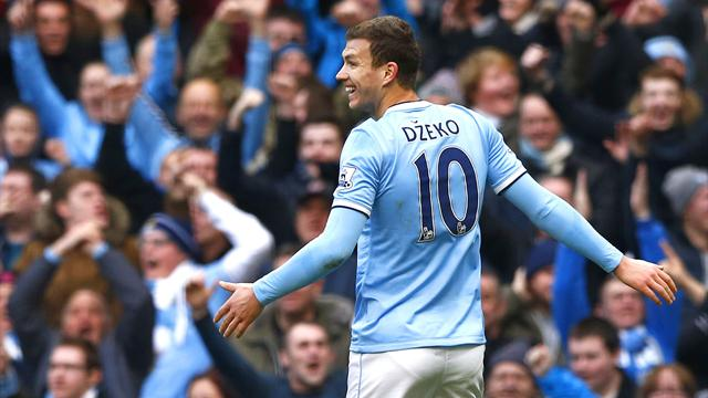Premier League - Irresistible Manchester City put four past Cardiff