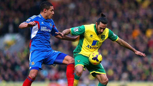 Premier League - Norwich win late against Hull City in grim match