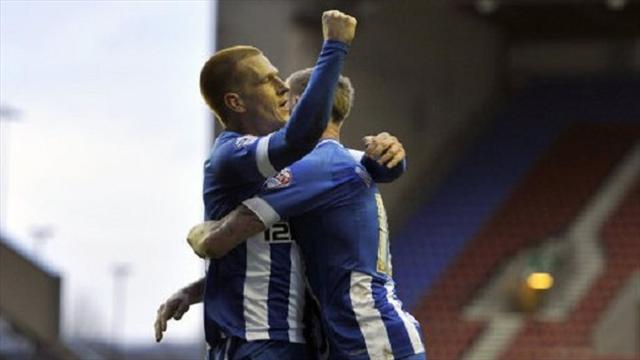 FA Cup - Wigan topple Premier League Palace