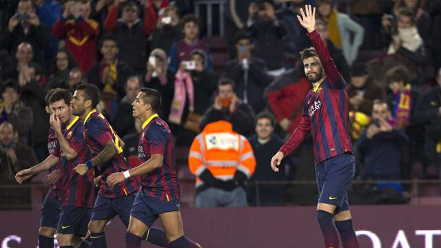 Liga - Barca return to top with comfortable win over Malaga