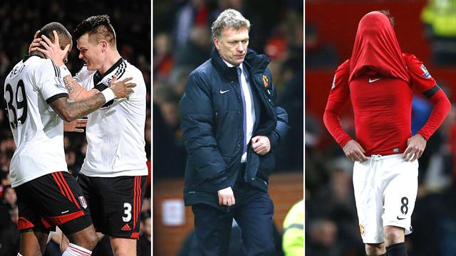 Premier League - Fulham deny Manchester United as Moyes suffering continues