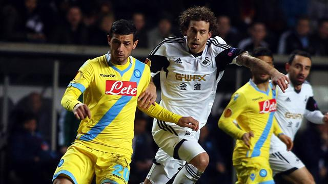 Europa League - Swansea impress in Napoli stalemate