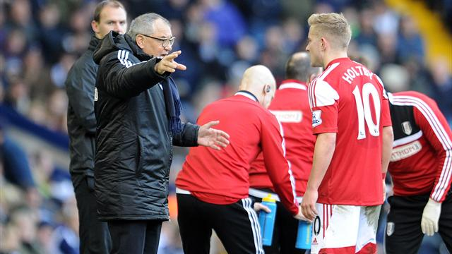 Premier League - Heartbreak for Magath as late goal denies Fulham