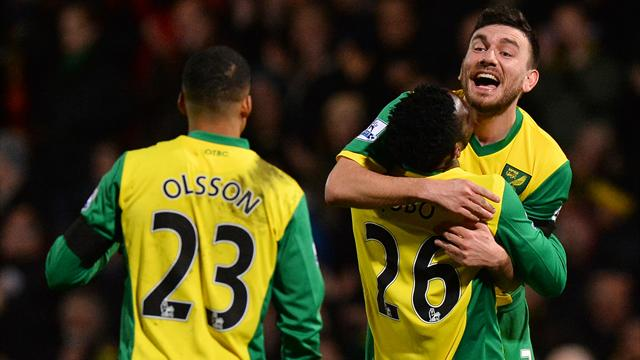 Premier League - Norwich dent toothless Tottenham's top four hopes