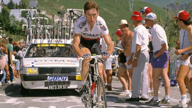 Photo: Eurosport - Sean Kelly in his 1980s heyday...