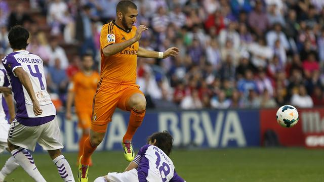 Real Valladolid 1-1 Real Madrid
