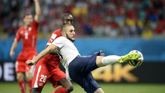 Thụy Sỹ 2-5 Pháp