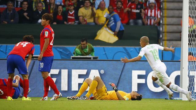 Xem lại: Hàn Quốc 2-4 Algeria | 23/06/2014