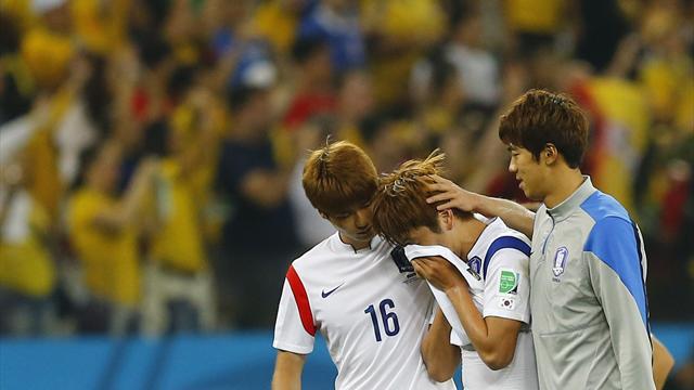 Hàn Quốc 0-1 Bỉ