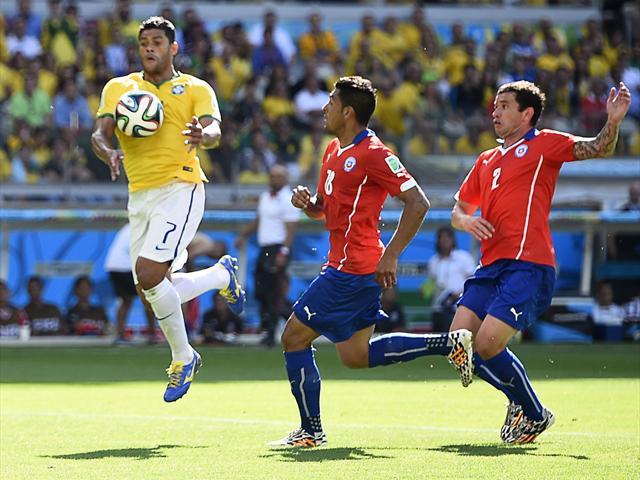 Brazil 1-1 Chile (11m: Brazil 3-2 Chile)