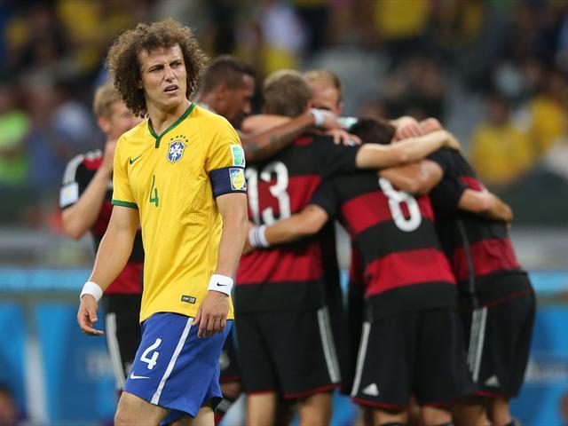 Brazil 1-7 Đức
