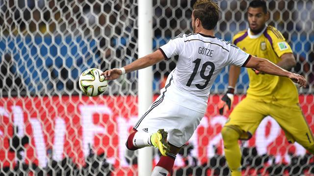 Đức 1-0 Argentina