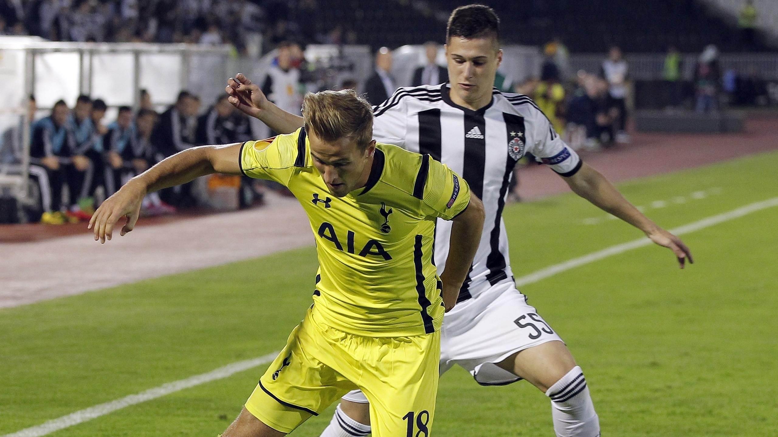 Video: Partizan vs Tottenham Hotspur