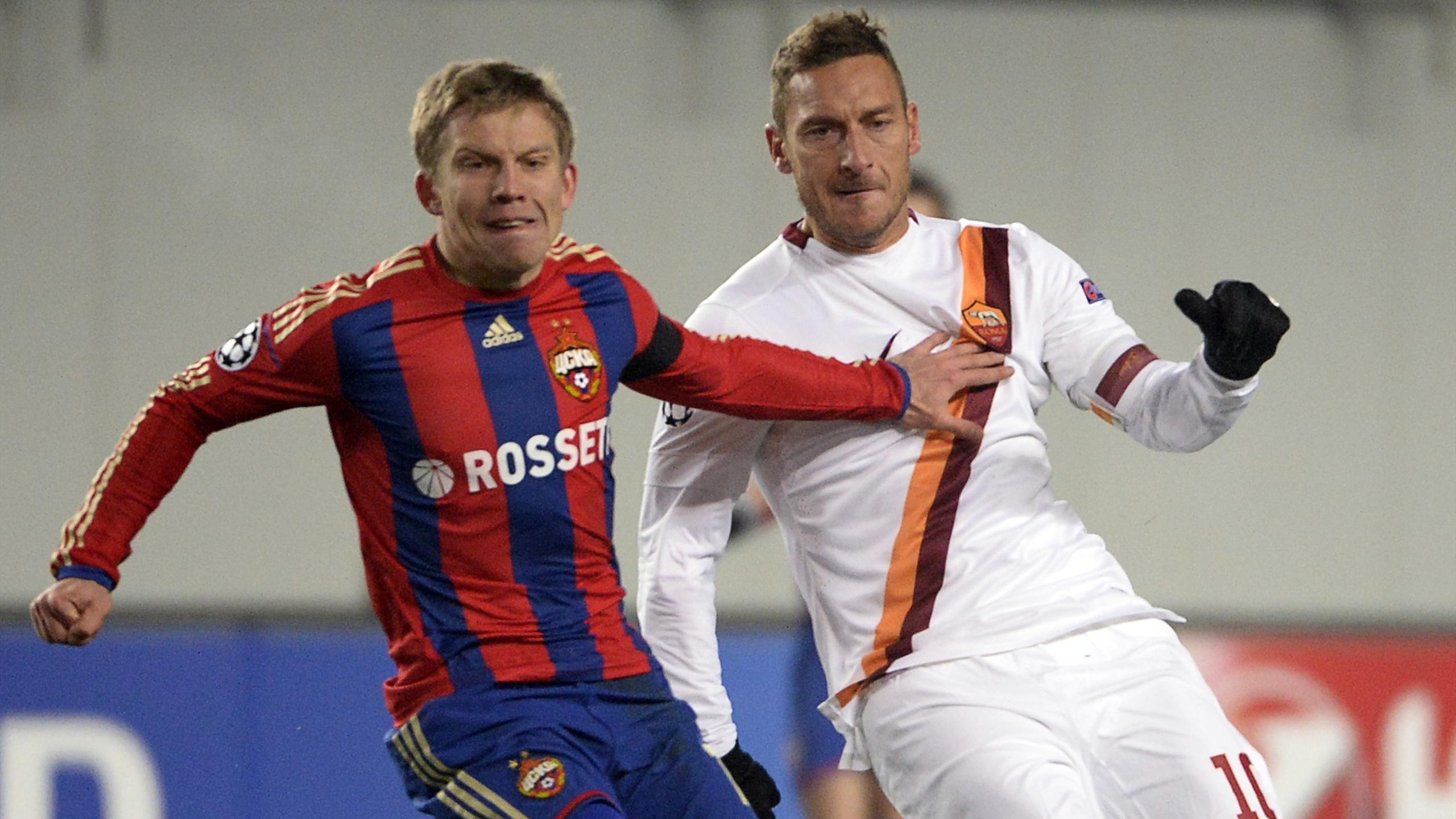 CSKA Moscow 1-1 Roma – Champions League (Group E) | Highlights