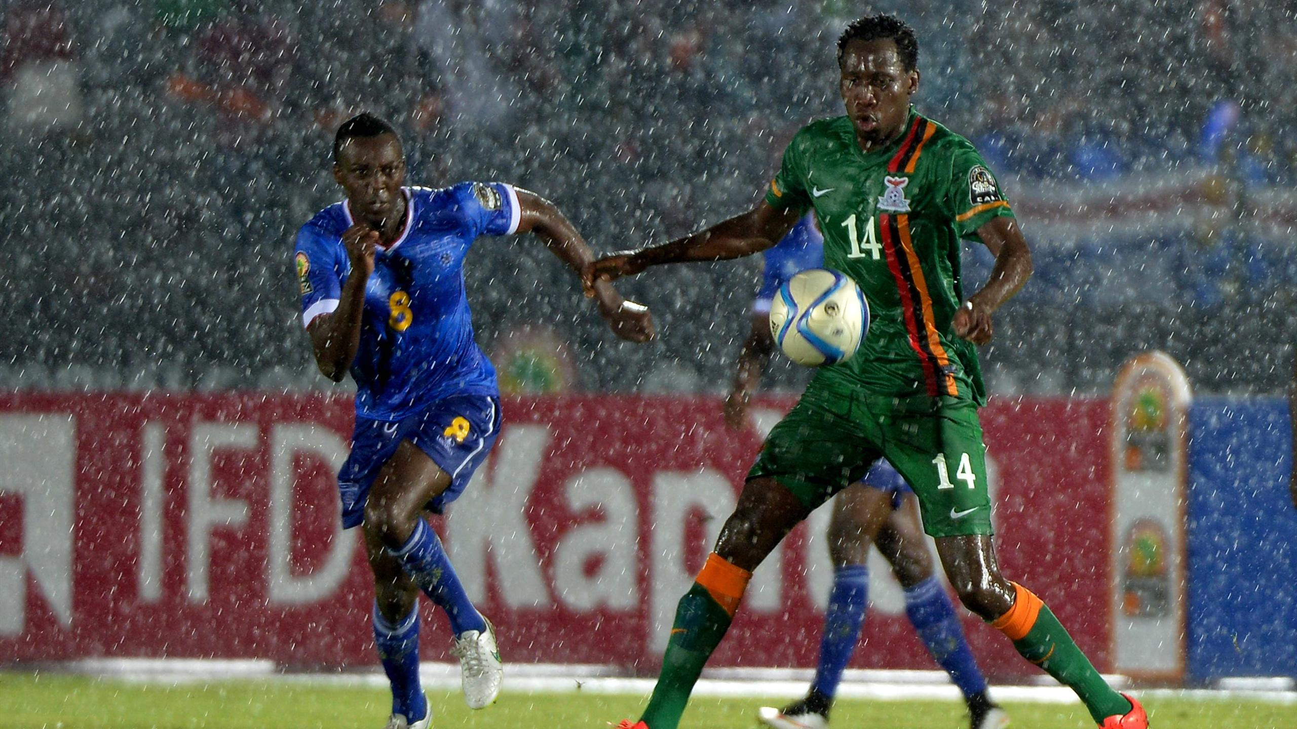Cape Verde Islands 0 – 0 Zambia(CAN Cúp - Bảng B)