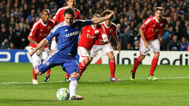 Chelsea finish off Benfica