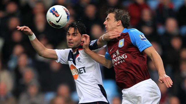 Bolton take vital win at Villa