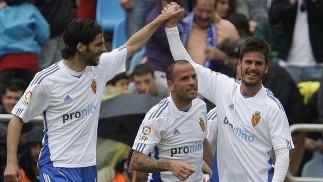 Liga - Zaragoza go level with Vallecano with win