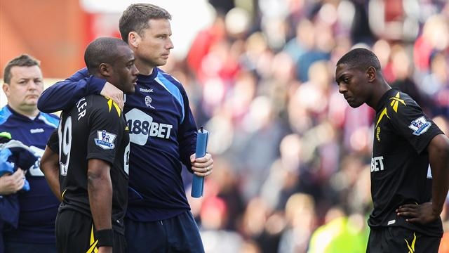 Bolton sent down by draw at Stoke