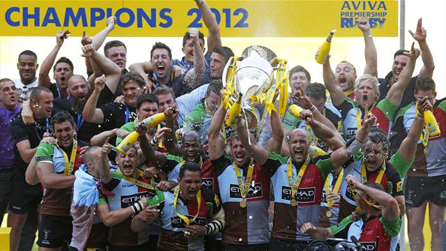 Harlequins win first Premiership title