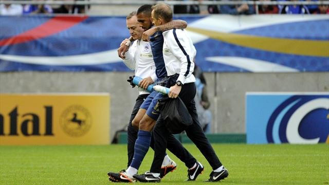France win marred by M'Vila blow