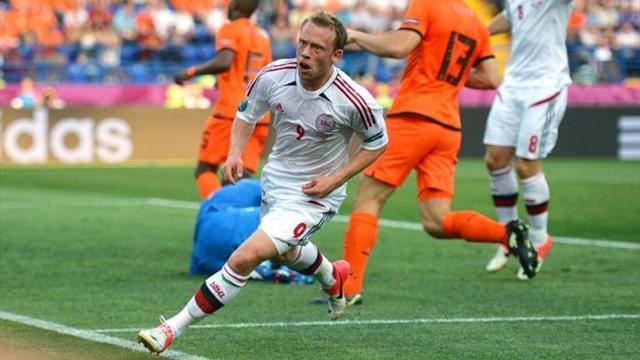 Denmark stun wasteful Dutch