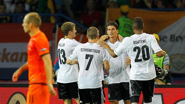 Germany win leaves Dutch on brink